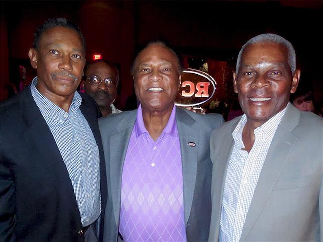 Frank Lewis, Booker Edgerson, Joe Cribbs