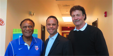 Booker Edgerson, Dr. P.J. Seereiter, Ken Jones