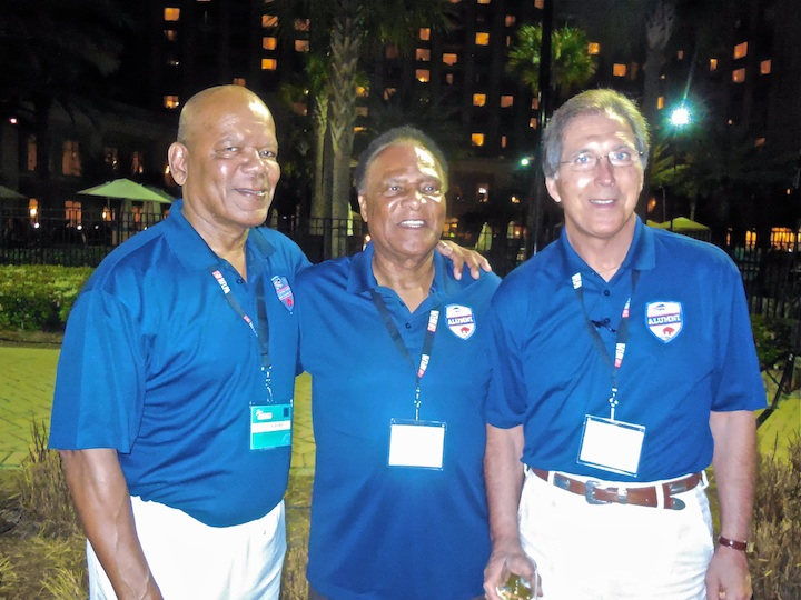 Left to Right/Butch Byrd, Booker, Ed Rutkowsk