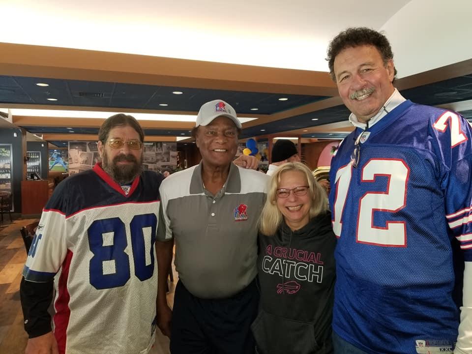 Dan, Booker, CJ and Ken @ Tailgate