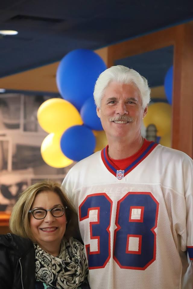 Ellen Reese & Jeff @ Tailgate